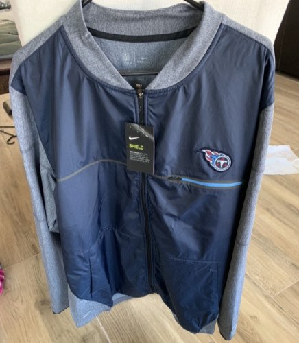 Brand new Tennessee Titans zip up jacket