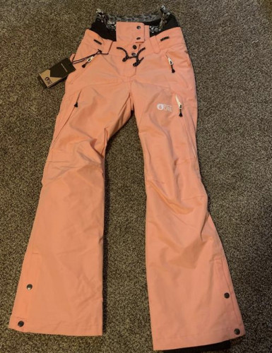 PICTURE brand snow pants, size XS never used, color coral