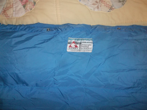 Gerry Denver Colorado USA Made Rectangular Sleeping Bag WARM BIG