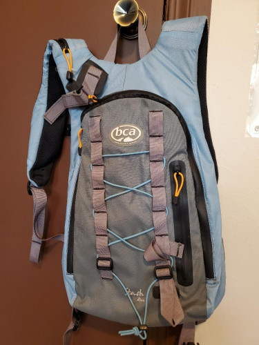 Backcountry ski day pack