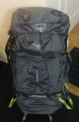 VERY gently used (1 overnight trip) - Atmos AG 65 Men's Medium