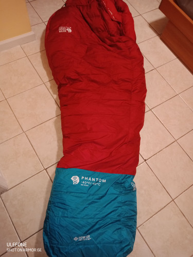 Mountain Hardwear Phantom Gore-Tex Sleeping Bag: -40F Down