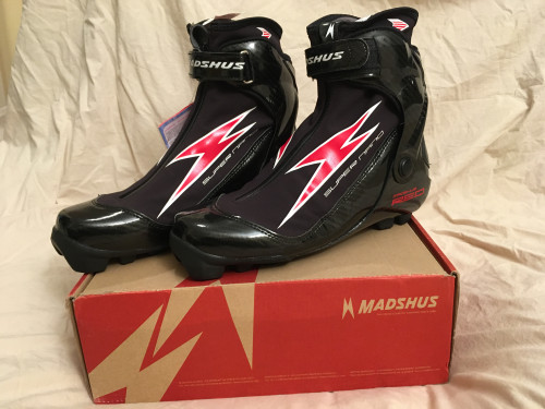 Madshus Super Nano Carbon Skate Race Boot 42 NNN