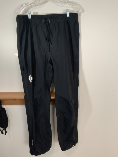 GoreTex PacLite Black Diamond Liquid point pants