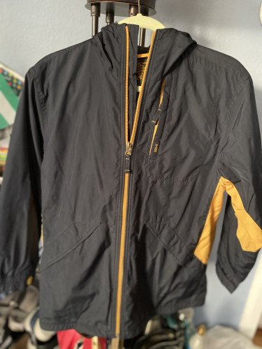 Gap Fleece-Lined Rain Jacket