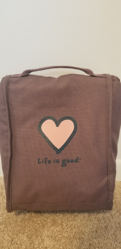 Life is Good Lunch Satchel