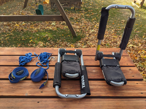 Thule Hull-a-Port Pro Kayak Rack