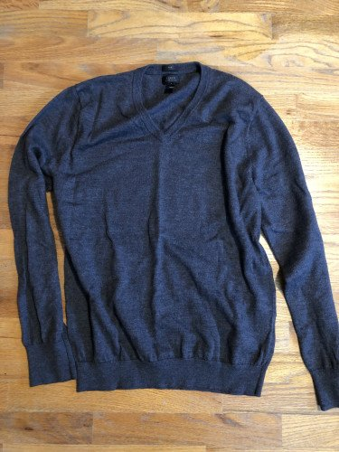 J crew merino wool sweater