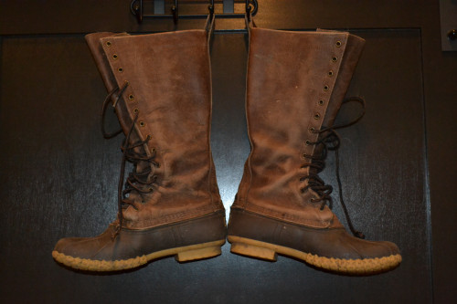 16 inch Dark Brown Maine Hunting Boots