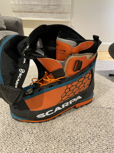 Scarpa Phanton 6000: EU Size 45/11.5 US, never used, perfect