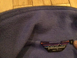 Patagonia Fleece Lined Jacket, Men's Size Small, Nylon Shell