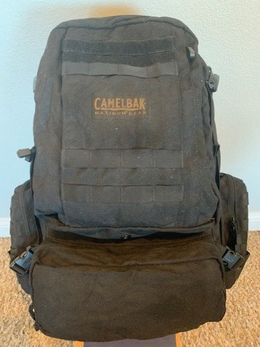 Camelbak BFM, black, excellent condition w/o hydration bladder