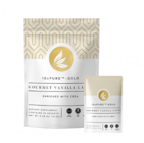 CTFO 10xPURE™-GOLD Gourmet Vanilla Latte  enriched with CBDa