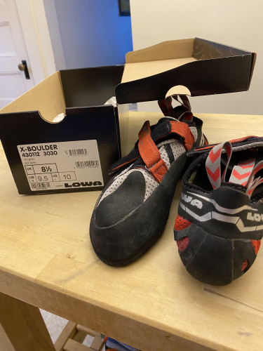 X-Boulder Climbing Shoes, Size US Men's 9.5
