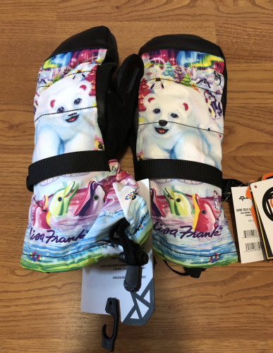Celtek x Lisa Frank Vera GoreTex mittens. New with Tags