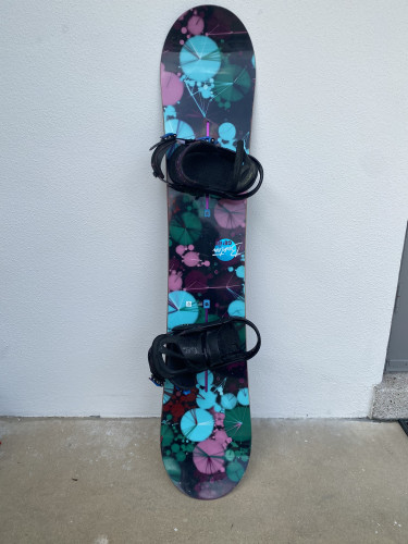 Board and bindings (boots available)