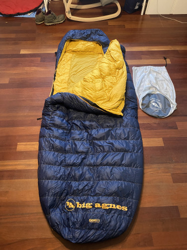 Big Agnes Summit Park Down Sleeping Bag