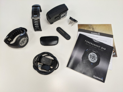 Garmin Forerunner 610 with GPS