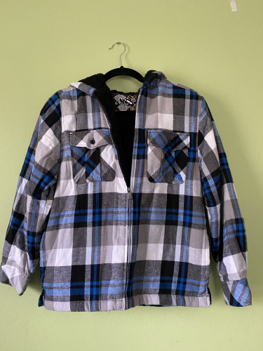 NSS Flannel Exterior, Fleece Interior Jacket - Brand New w/ Tags