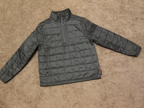 Land's End Primaloft Pullover Jacket Insulated Medium