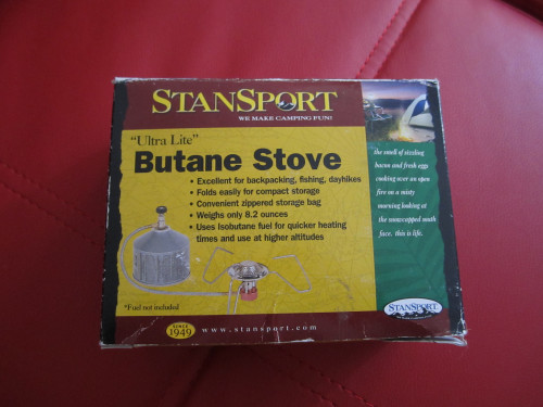 Stansport Ultra Lite Butane Stove No. 180