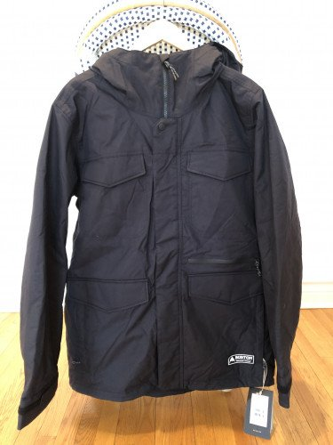 Men's  XL Black Snowboard Jacket Brand New