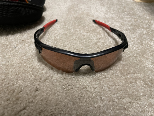 Oakley radarlock with extra lenses