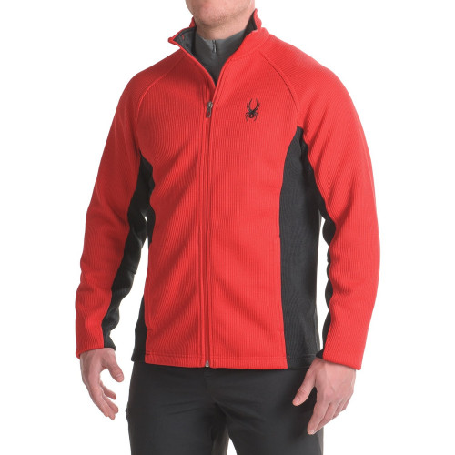 Spyder Men's Constant Stryke Full Zip Jacket XL Red