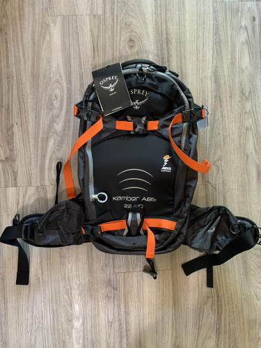 Osprey touring pack - Kamber ABS 22+10 M/L