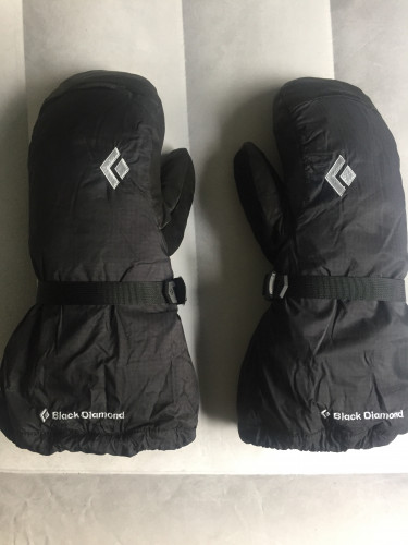 Black Diamond Absolute Mitts Never Used