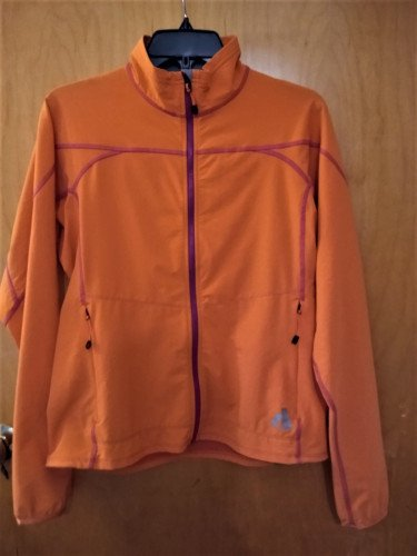 First Ascent Soft Shell Jacket-Women's, Orange, Medium-Excellent