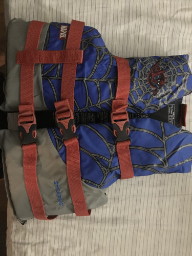 Spiderman life jacket/vest