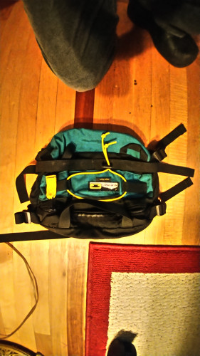 Mountainsmith VINTAGE Classic Lumbar Series Green/Black/Yellow