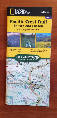 Pacific Crest Trail, Shasta and Lassen, Castle Crags to Sierra B
