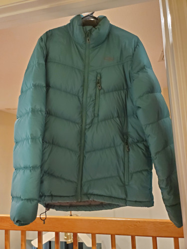 Men's OR Transcendent Down Jacket, size M, color Hemlock