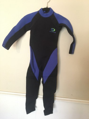 Child's barely used wetsuit