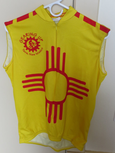 TAOS NEW MEXICO SLEEVELESS BIKE SHIRT