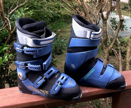 Rossignol Energy S Lady NA - MT Black/Blue Cobalt Ski Boot 25.5