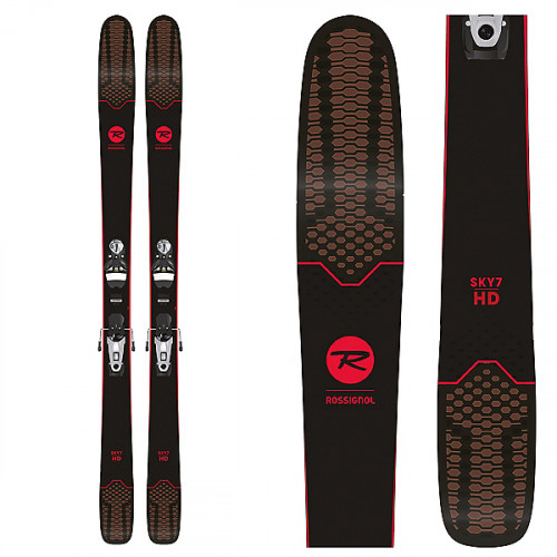 New Rossignol Sky 7 HD Skis with SPX 12 Konect Bindings- 164cm