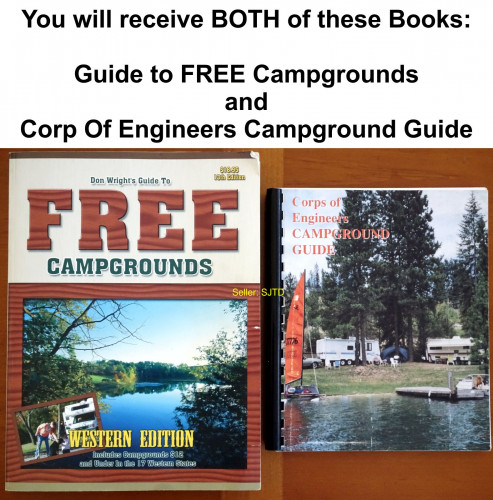 FREE Campgrounds and Corp Of Engineers Camp Guide Books