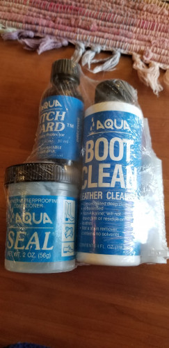 Leather Boot Cleaner, Waterproofing Cond., & Welt/Seam Protector