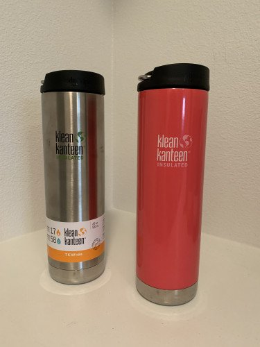 Klean Kanteen Stainless Steel TKWide Water Bottle 20oz