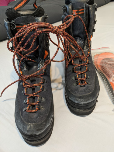Mountaineering Boots in great condition