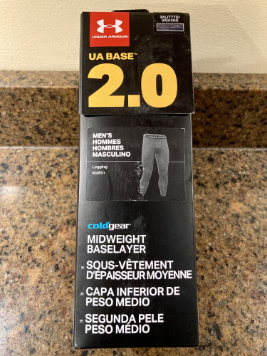UA Base 2.0 ColdGear Midweight Thermal Bottoms / Leggings