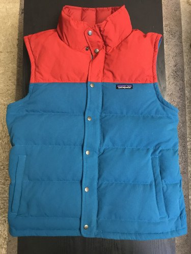 Patagonia Men's Bivy Down Vest, Underwater Blue