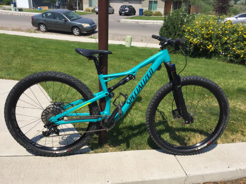 Womens Specialized Camber Comp 27.5 Full Suspension MTB