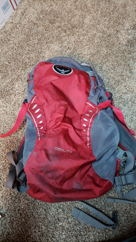 Day pack for short hikes.