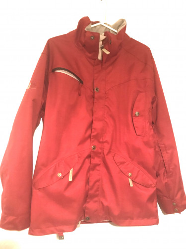 RIDE Snowboarding Jacket Cell Series 10 Red Medium