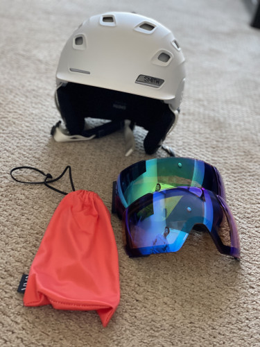 Smith Vantage BOA Helmet with I/O Mag Goggles