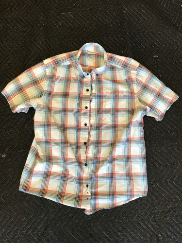 Columbia short sleeve button down shirt